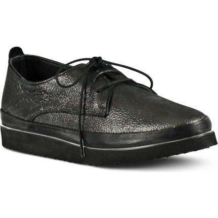 Marjin Ultine Platin Kadın Düz Ayakkabı