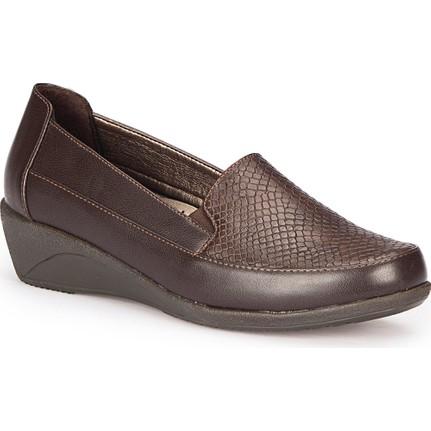 Polaris 72.158116.Z Bordo Kadın Ayakkabı