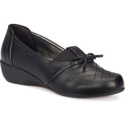 Polaris 72.158027.z Siyah Kadın Ayakkabı