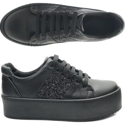 Miss Aliva W5041 Kalın Taban Günlük Kadın Ayakkabı