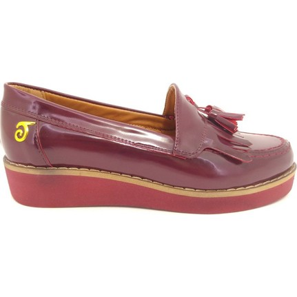 Taymir 4-E3011 Bordo Günlük Kadın Ayakkabı