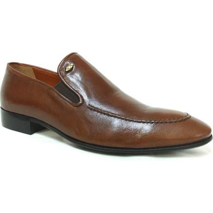 Footmark 728 Siyah Klasik Abiye Erkek Ayakkabı