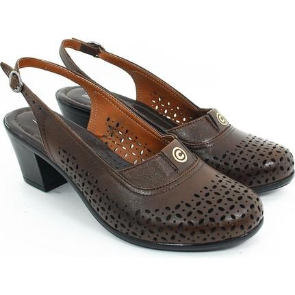 Diego Carlotti 113369-01 Kahverengi Kadın Günlük Ayakkabı