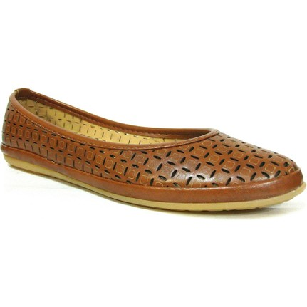 Paprika 12665 Taba Kadın Babet Ayakkabı