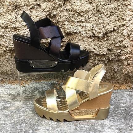 Shop And Shoes 015-122 Siyah Kadın Topuklu Ayakkabı