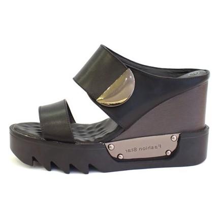 Shop And Shoes 015-6519 Siyah Kadın Terlik