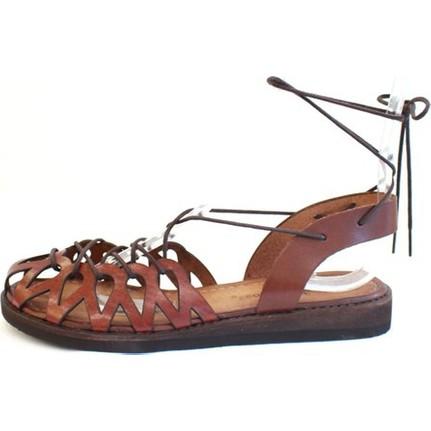 Shop And Shoes 027-7002 Kahverengi Kadın Sandalet