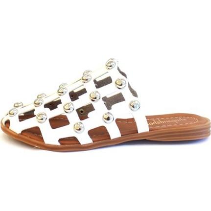 Shop And Shoes 031-1105 Bej Kadın Terlik