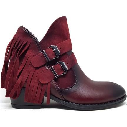 Shop And Shoes 031-6022 Taba Kadın Bot
