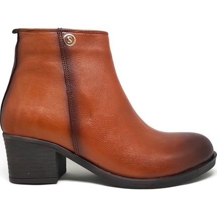 Shop And Shoes 031-624 Taba Kadın Bot