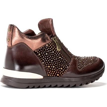 Shop And Shoes 121-2715 Kahverengi Kadın Bot