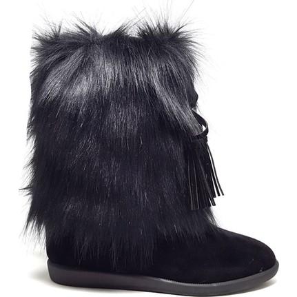 Shop And Shoes 155-8006 Mor Kadın Bot