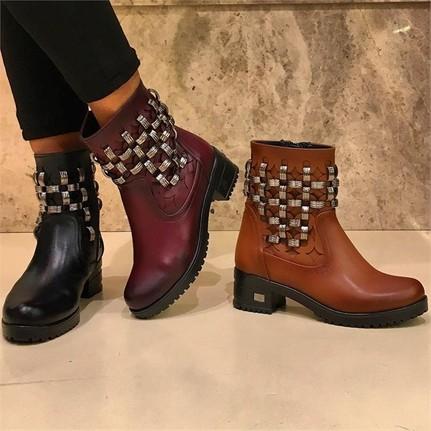 Shop And Shoes 161-050 Taba Kadın Bot