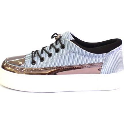 Shop And Shoes 173-1990 Kadın Ayakkabı Mavi