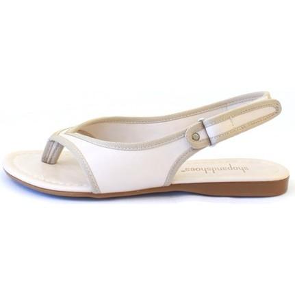 Shop And Shoes 190-079 Bej Kadın Ayakkabı