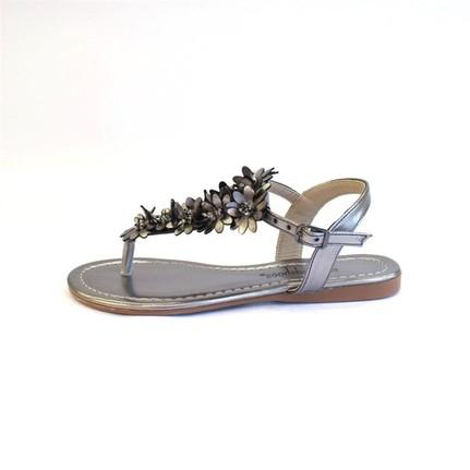 Shop And Shoes 190-081 Platin Kadın Ayakkabı