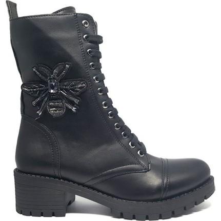 Shop And Shoes 190-409 Siyah Kadın Bot
