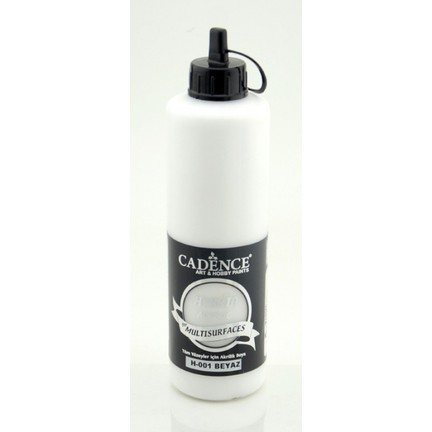 Cadence Beyaz Multisurface Hibrit Boya Cadence 500ml Fiyatı