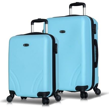461784e87c9b6 My Valice Trend 2'Li Valiz Seti (Kabin Ve Orta) Açık Mavi Fiyatı