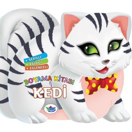 şekilli Eğitici Eğlenceliboyama Kitabı Kedi Fiyatı