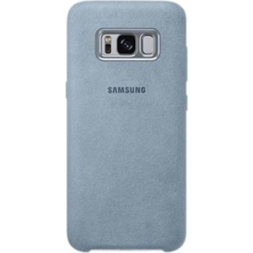Samsung Galaxy S8 Alcantara Kılıf Gri - EF-XG950AMEGWW