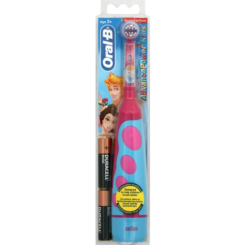 Oral-B Disney Prenses Temalı Çocuklar için Pilli Diş Fırçası D2010k