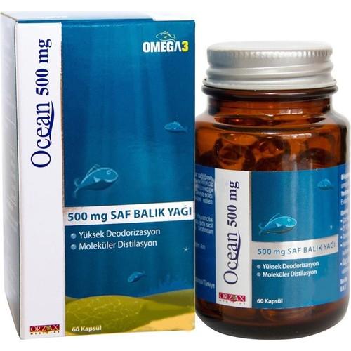 Ocean 500 Mg 60 Kapsül
