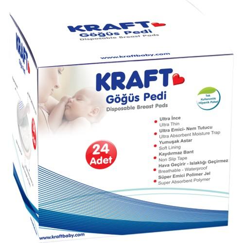 Kraft Jelli Göğüs Pedi (24'lü)
