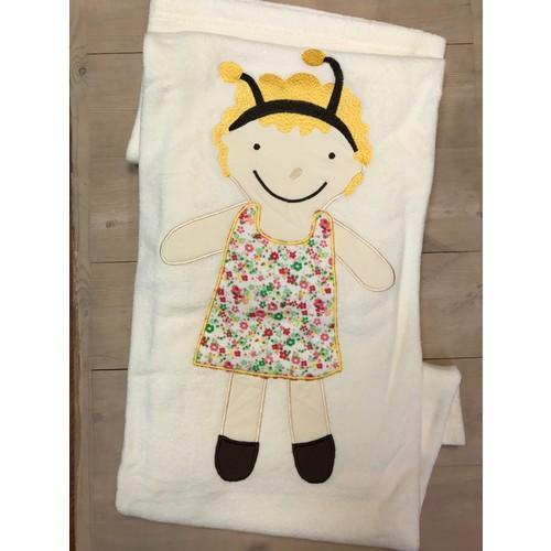 Alla Turca Bebek Battaniyesi-Renkli Arı