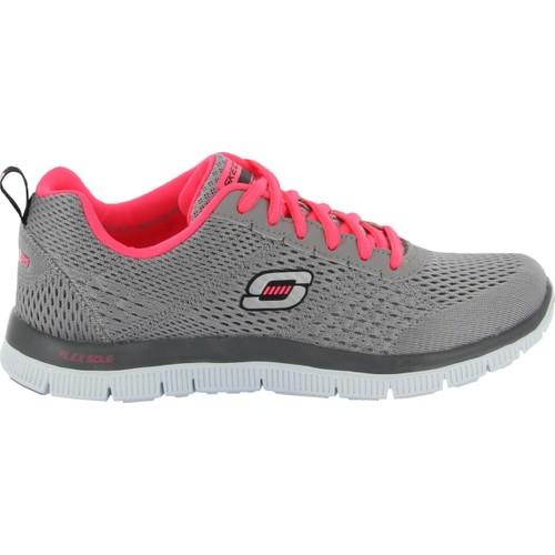 Skechers Flex Appeal Kadın Gri Koşu Ayakkabısı (12058-Lgcl)