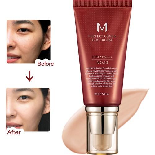 Missha M Perfect Cover BB Cream SPF42 (No.13/Bright Beige) 50ml