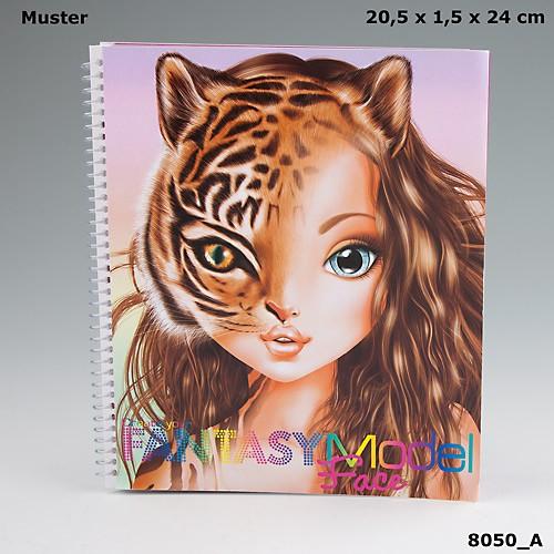 Top Model Fantasy Yuz Boyama Kitabi Dk08050 Fiyati