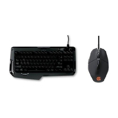 Logitech G410 Oyuncu Klavye + G303 Oyuncu Mouse