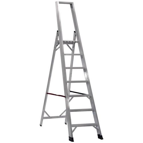 Çağsan 6+1 Basamaklı Alesta Profesyonel Alüminyum Merdiven