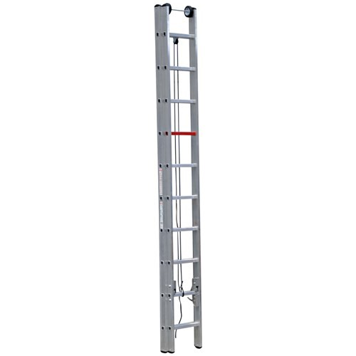 Çağsan 2x10 Basamaklı İpli&Makaralı Alüminyum Merdiven