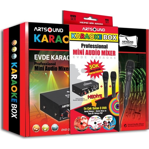Karaoke Box Mini Audio Mixer