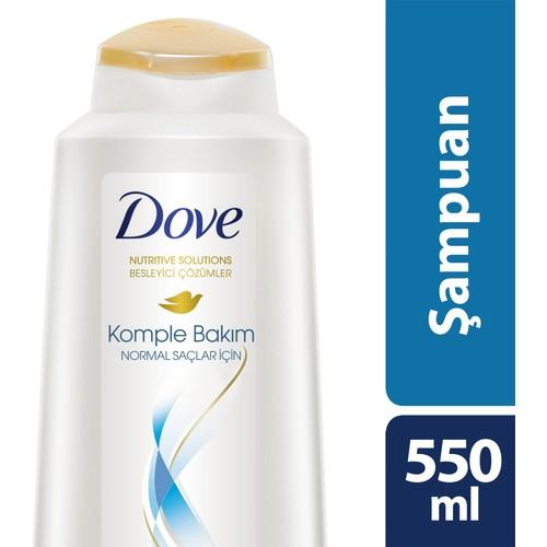 Dove Şampuan Komple Bakım Normal Saçlar İçin 550 ml