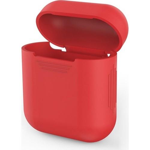 Case 4U Apple Airpods Silikon Kılıf Kırmızı*