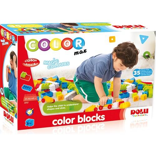 Dolu Renkli Bloklar 35 Parça