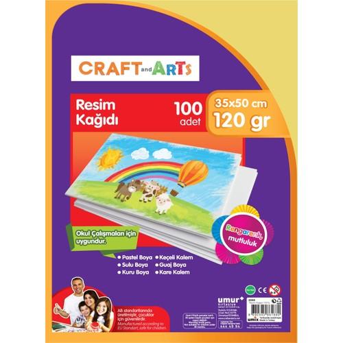 Craft and Arts Resim Kağıdı 100'lü 35x50