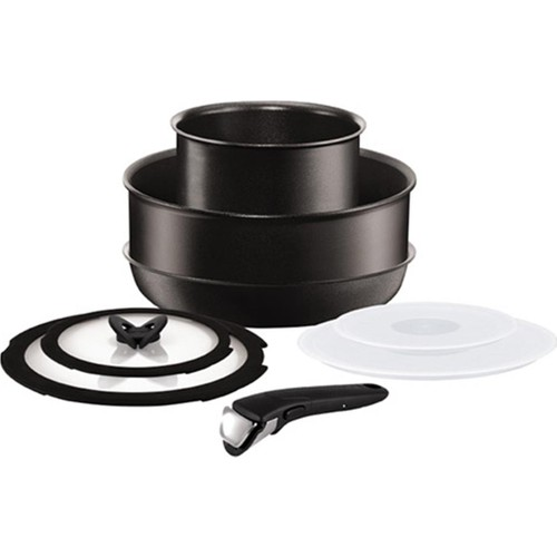 Tefal Titanium Ingenio Performance Stackable Orta Set [8 Parça] - 2100098551