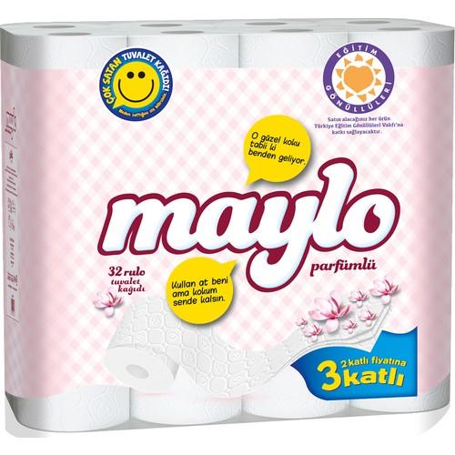 Maylo 3 Katlı Parfümlü Tuvalet Kağıdı 32'li