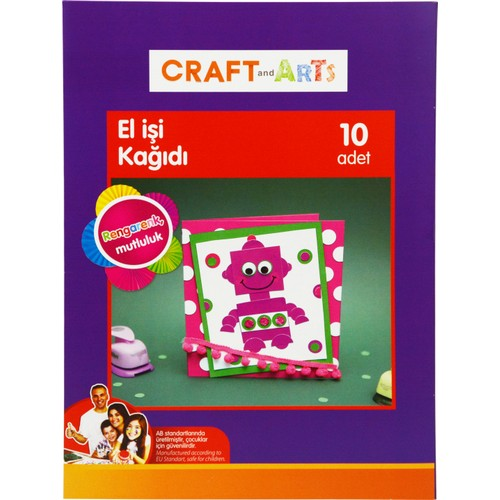 Craft and Arts El İşi K 10'lu Dosyalı A4
