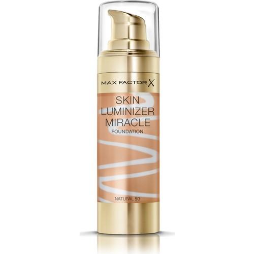 Max Factor Skin Luminizer Cilt Aydınlatıcı Fondöten 50 Natural