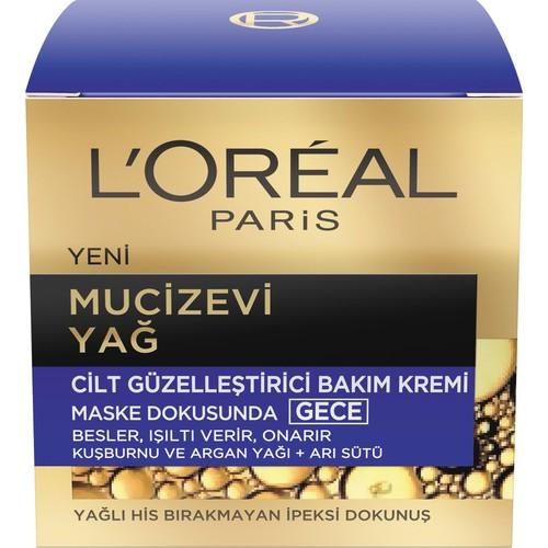 L'Oréal Paris Mucizevi Yağ Bakım Kremi Gece