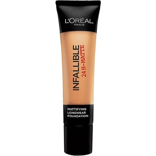 L'Oréal Paris Infaillible 24H Matte Fondöten 24 BEIGE DORE