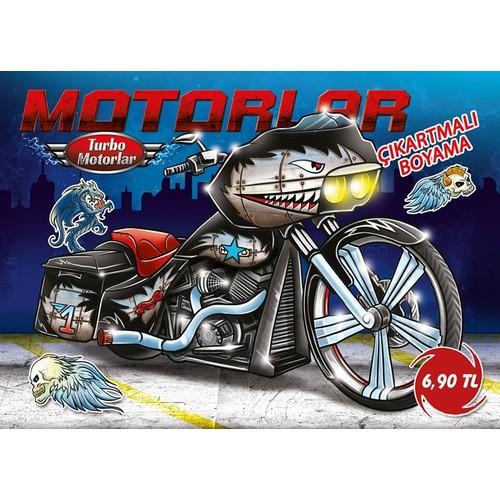 Turbo Motorlar Cikartmali Boyama 5 Kitap Takim Fiyati