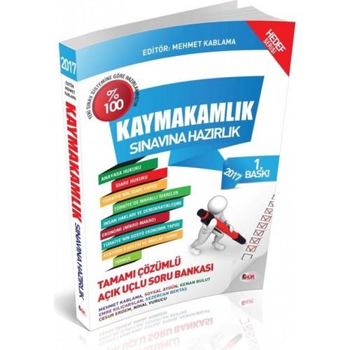 Kaymakamlık Sınavına Hazırlık Tamamı Çözümlü Açık Uçlu Soru Bankası Hür Yayınları