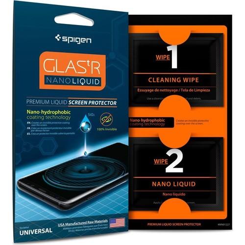 Spigen Universal Nano Liquid Sıvı (Seramik) Kaplama Tüm Cihazlarla Uyumlu Ekran Koruyucu - 000GL21813