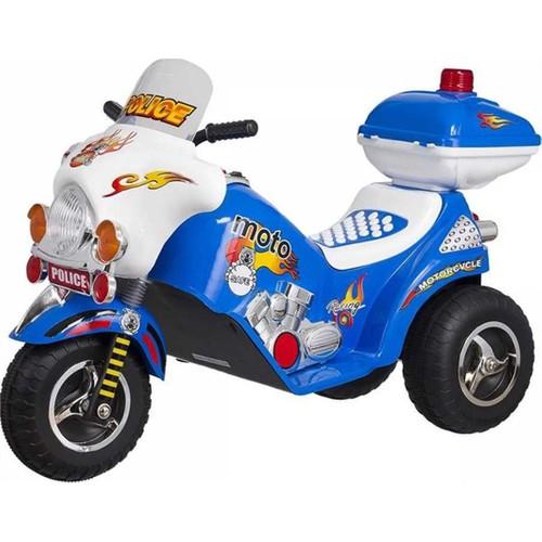 Baby2go 6502 Akülü Motor Mavi 6 Volt